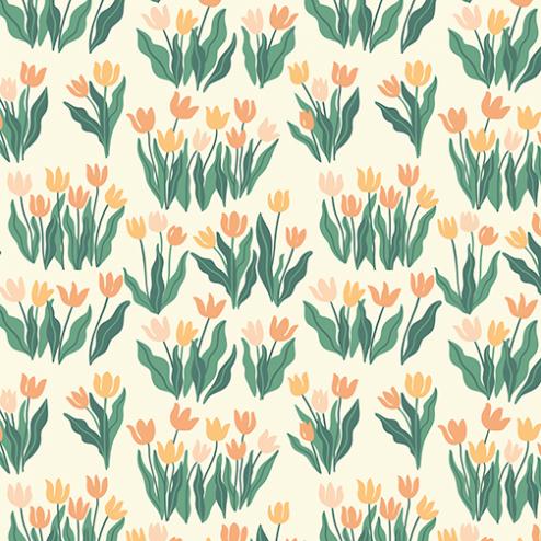 Blooming Tulips Pattern - Sample Kit
