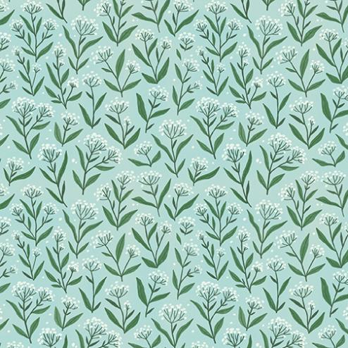 Blue Wildflower Pattern - Sample Kit