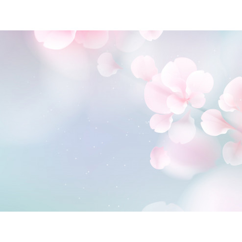 Blue & Pink Sakura Flowers - Sample Kit