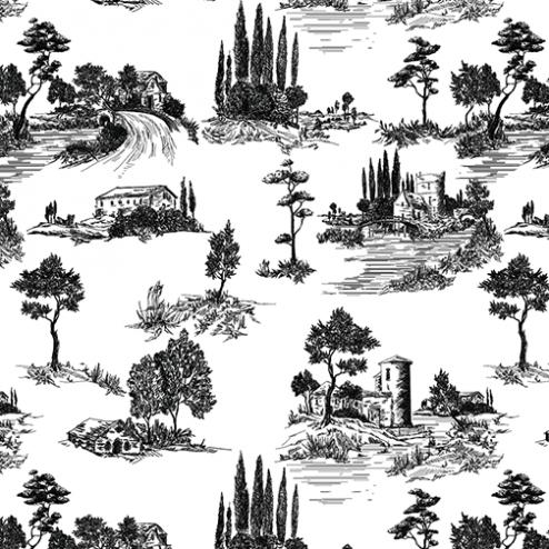Italian Countryside Pattern
