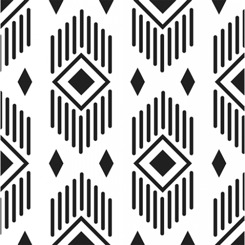 Aztec Diamonds Pattern - Sample Kit
