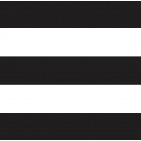 Black Horizontal Stripes Pattern