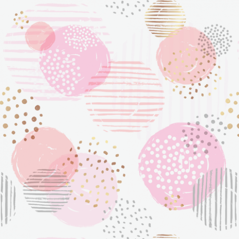 Circles Pattern - Sample Kit-Pink