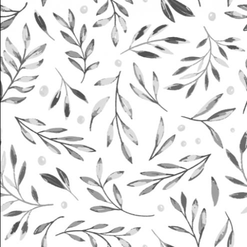 Leaves and Berries Pattern - Sample Kit
