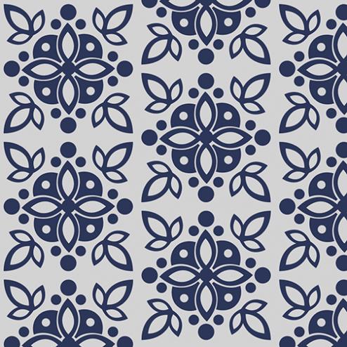 Mosaic Flower Pattern - Sample Kit