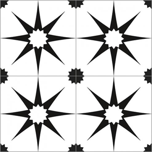 Mosaic Star Pattern - Sample Kit