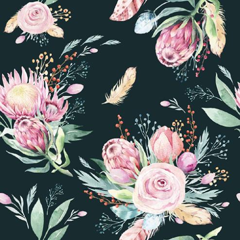 Springtime Floral Pattern - Sample Kit