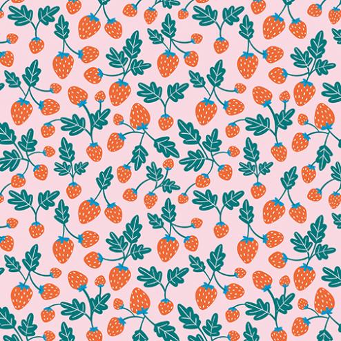 Strawberry Fields Pattern - Sample Kit