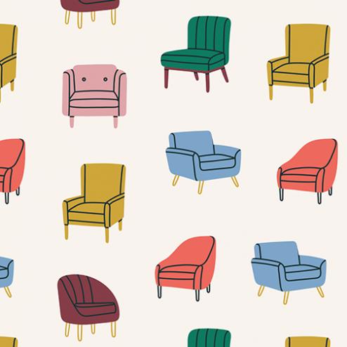 Vintage Chair Pattern - Sample Kit