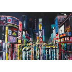 New York, original oil painting
