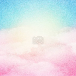 Abstract white cloud and blue sky background