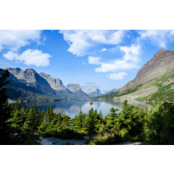 Saint Marys Lake at Glacier National Park