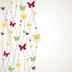 Background with Butterfly. Vector illustration