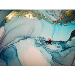 Blue Marble Swirl