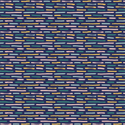 Brushstrokes Pattern-Navy - Sample Kit