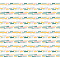 Brushstrokes Pattern-White - Sample Kit