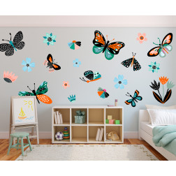 Butterfly Decal Set
