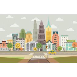 Colorful Cityscape