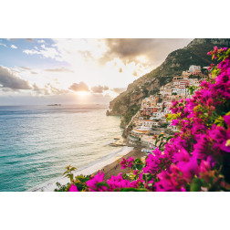 Positano in Bloom
