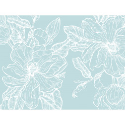 Teal Magnolia Outline - Sample Kit