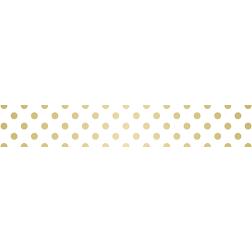 Gold Dotted - Stair Wrap