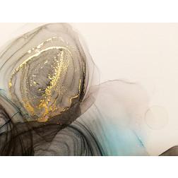 Golden Marble Swirl