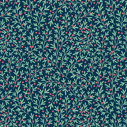 Holly Berry Pattern - Sample Kit