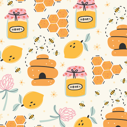 Honeybee Pattern - Sample Kit