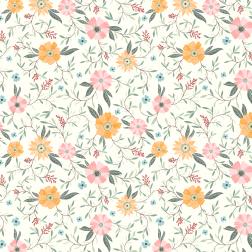 Lively Blossom Pattern