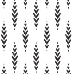 Feather Pattern - Sample Kit-Black