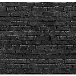 Black Rustic Brick Pattern