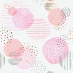 Circles Pattern - Sample Kit-Pink