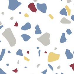 Confetti Pattern - Sample Kit-Earth tone with white background