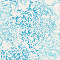 Delicate Peonies Pattern - Sample Kit