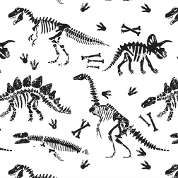 Dino Relics Pattern - Sample Kit