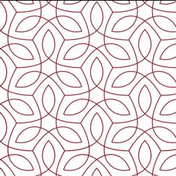 Endless Vine Pattern - Sample Kit-Red