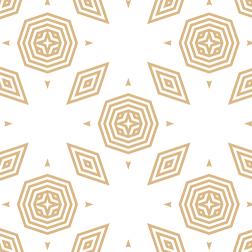 Geometric Prism Gold Pattern