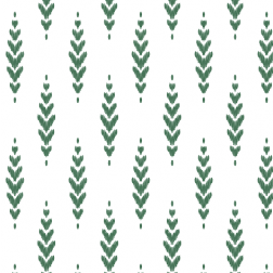 Feather Pattern - Sample Kit-Green
