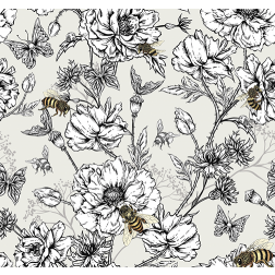 Honeybee Floral Pattern - Sample Kit