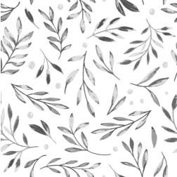 Leaves and Berries Pattern