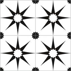 Mosaic Star Pattern - Sample Kit