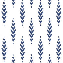 Feather Pattern - Sample Kit-Navy
