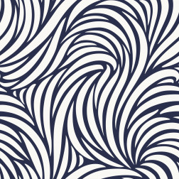 Navy Waves Pattern