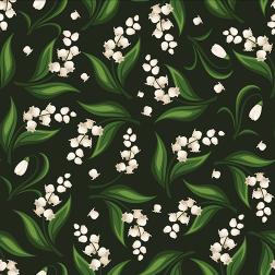 Snowdrop Flower Pattern