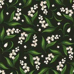Snowdrop Flower Pattern - Sample Kit