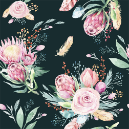 Springtime Floral Pattern - Sample Kit