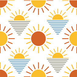 Sunshine Bliss Pattern - Sample Kit