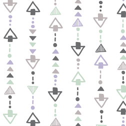 Triangles Pattern - Sample Kit-Colorful