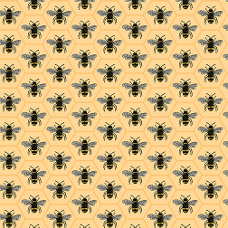 Queen Bee Pattern-Yellow - Sample Kit
