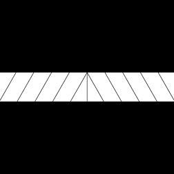 Chevron Riser - Stair Wrap